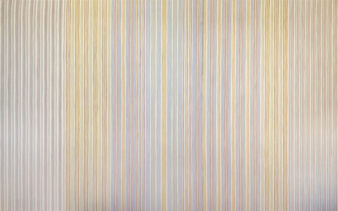 Renoir's Curtain by Gene Davis